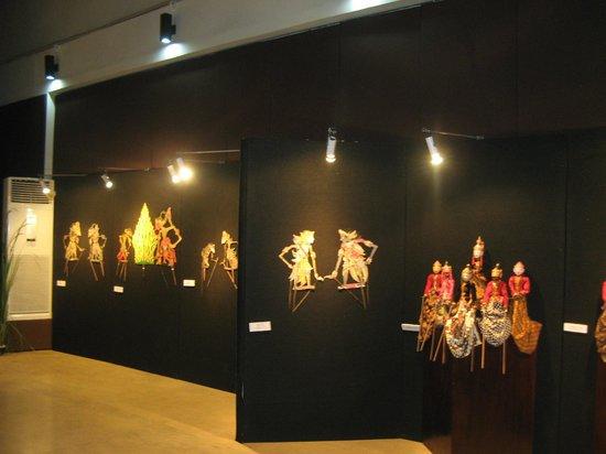 Museum Wayang: Dockvägg