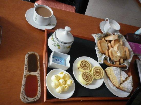Del Sir Apart-Hotel: Desayuno riquísimo