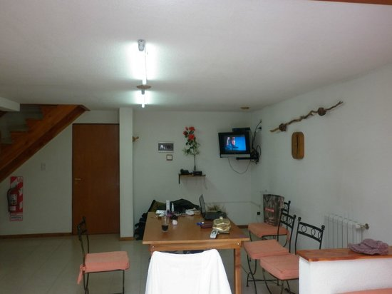 Apart-Hotel Del Sir: Comedor amplio y luminoso