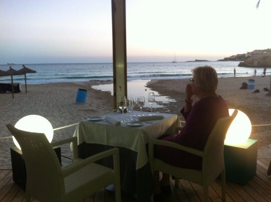 Be Live Adults Only Costa Palma: Restaurant Pelicano at the beach :-)
