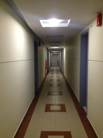 Bio Suites Hotel : Corridoio
