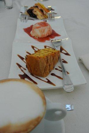 Corte San Giovanni: En het dessert.....