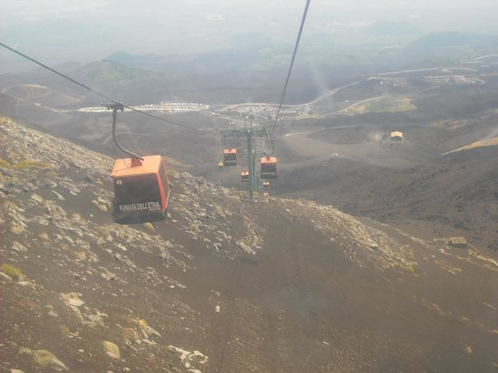 Monte Etna: View from cable car