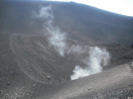 Monte Etna: Heat from ground