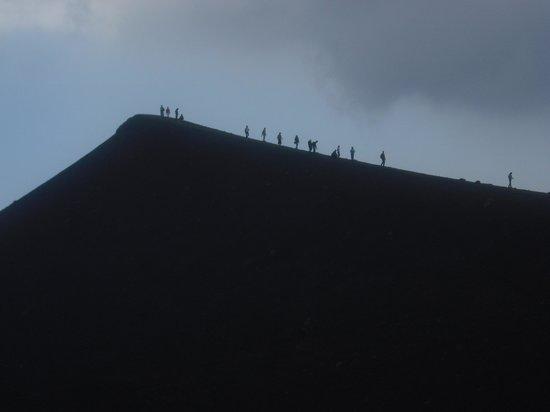 Monte Etna: High up