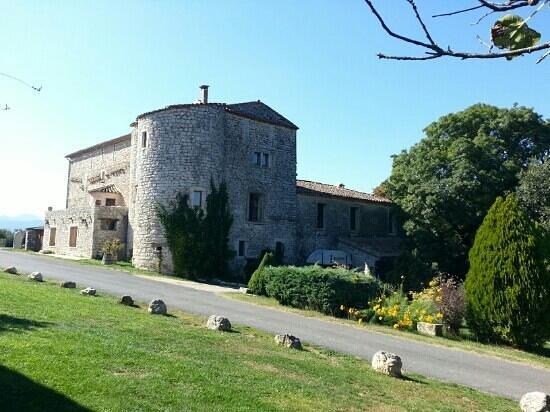 Domaine de Blancardy - Auberge: le bâtiment principal