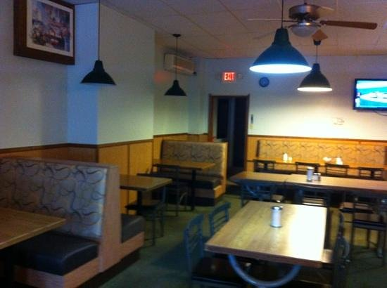 Eating Place: Basic diner decor