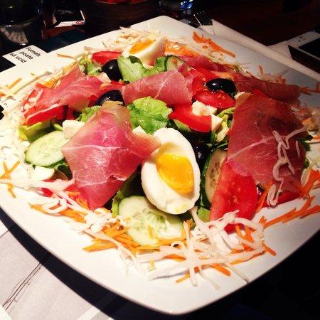 Gavroche - Cafe. Brasserie.: Italian salad!