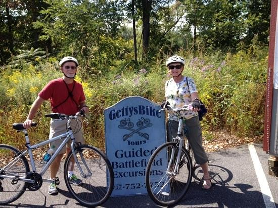 GettysBike Tours: Getting ready for the tour