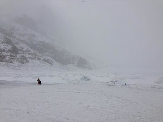 Columbia Icefield Glacier Adventure: Nothing to see