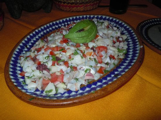 El Herradero Mexican Grill and Bar: ceviche mixto