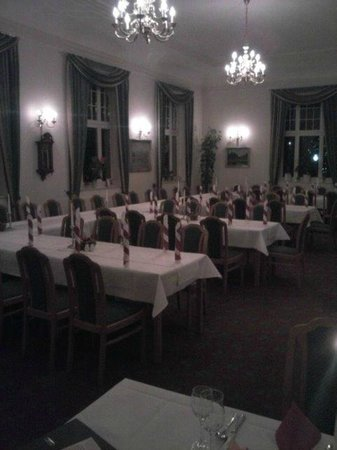 Ferien Hotel Villa Suedharz: Laid out for a special event for 100 people