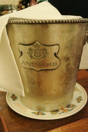 Cantinetta Antinori: Wijnen zijn super (uiteraard)...