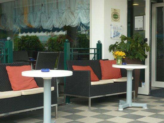 Hotel Lily: Terrazza/Bar