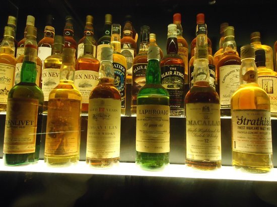 The Scotch Whisky Experience: More bottles