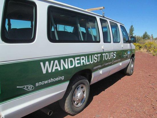 Wanderlust Tours: Tour van