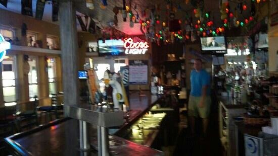 Dead End Saloon and Fish Factory: The Bar