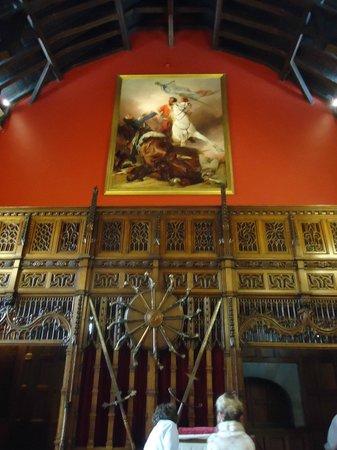 ปราสาทเอดินเบิร์ก: Inside the castle.