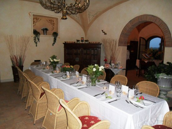 Il Casale Del Marchese: One dining area in main house