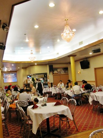 Ocean Harbor: inside of restaurant