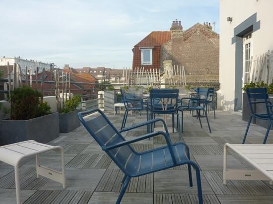 Hotel Castel Victoria : terrasse