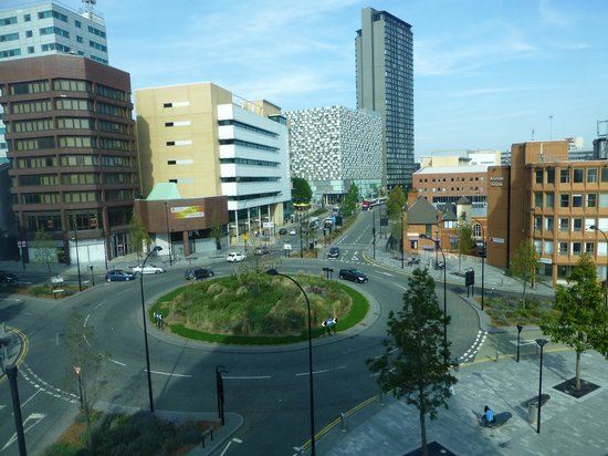 Jurys Inn Sheffield: View from our room..