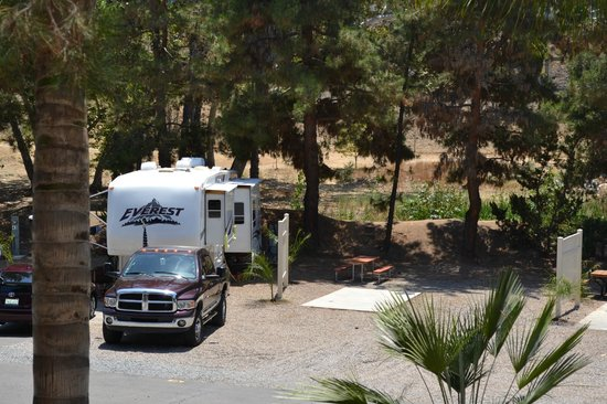 Rancho Los Coches RV Park : Sites to accomidate any size RV.