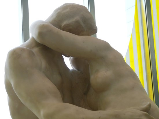 Turner Contemporary: rodin's the kiss