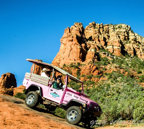 Pink Jeep Tours Sedona: Fred Flintstone didn't have roads this rough