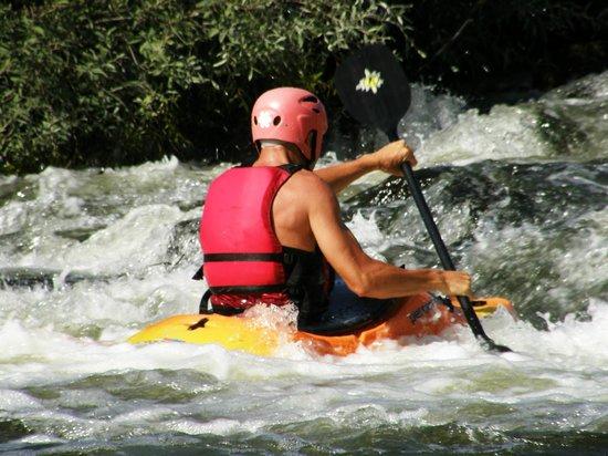 Azenhas da Seda - Aquaturismo: Ribeira de Seda - Water sports freenzy