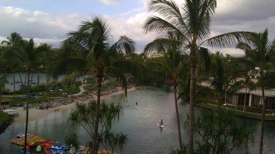 Hilton Waikoloa Village: View from room