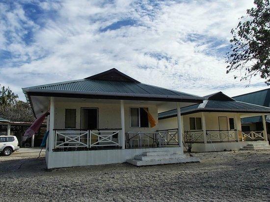 Turiroa Village: Les bungallows