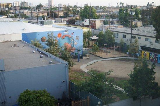 Best Western Of Long Beach : vue de la chambre