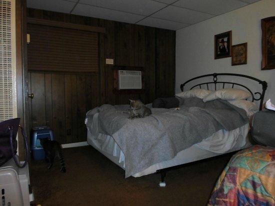 Larian Motel: 2 beds queen room...