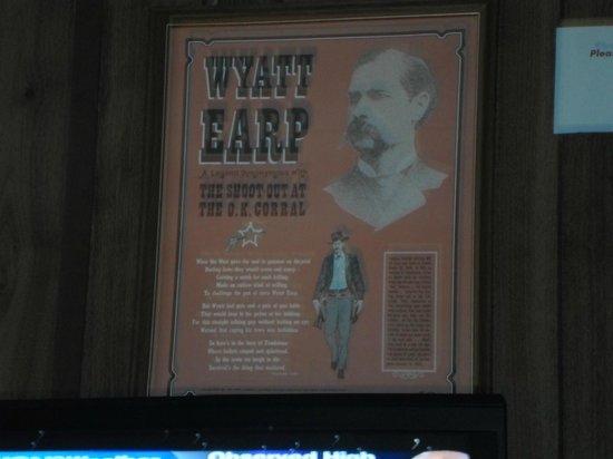 Larian Motel: wyatt earp room we were in....