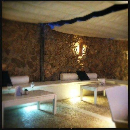 Balneario Illetas: Relaxing ounge area