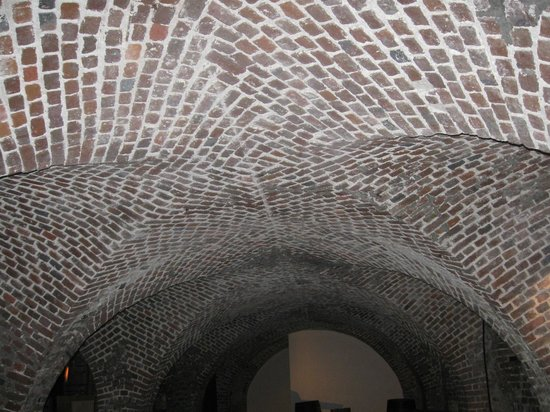 Old Exchange & Provost Dungeon: The ceiling area of the Dungeon