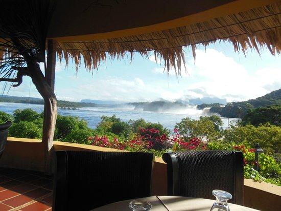 Campamento Canaima: Vista del Restaurante
