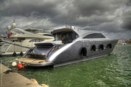 แอลคูเดีย, สเปน: boats in the port