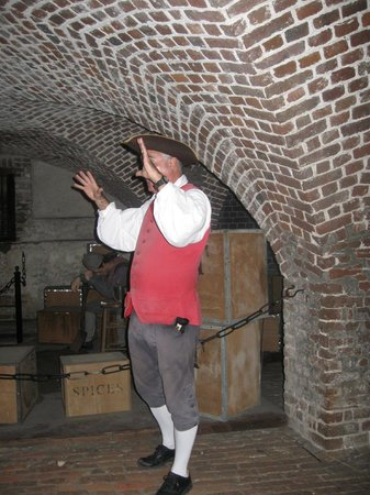 Old Exchange & Provost Dungeon: A great tour guide giving us some great history....
