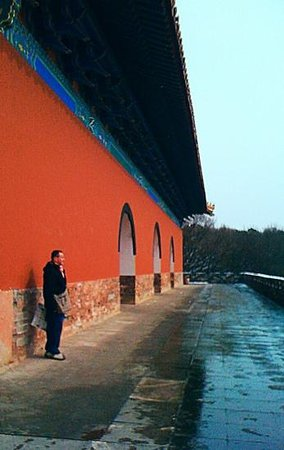 Xiaoling Tomb of Ming Dynasty: contemplative new years morning at deserted ming tombs'12Annh