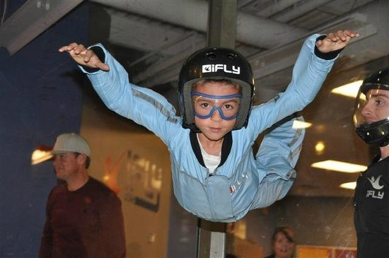 iFLY Utah Indoor Skydiving: Ages 3 years old and up can participate
