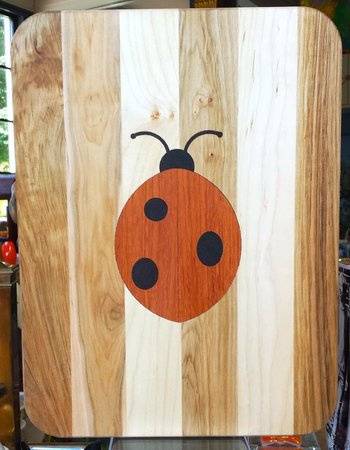 Fiddlehead at Four Corners: Wood cutting board