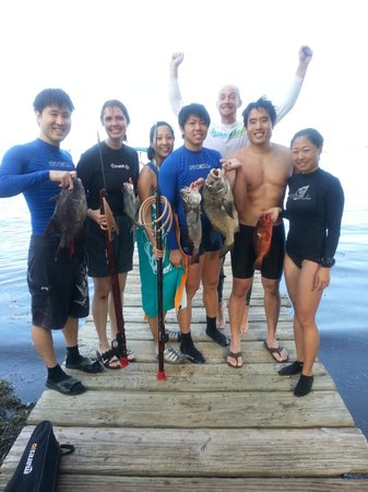 Spearfishing Puerto Rico: with our catch