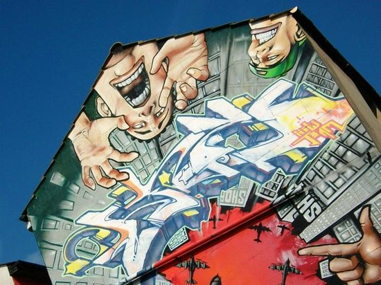 The Lanes : Street Art North Lanes