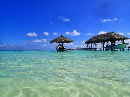 Pearl Havaiki: Ponton vu de la plage
