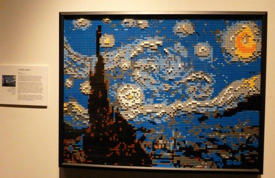 Discovery Times Square : Starry Night!