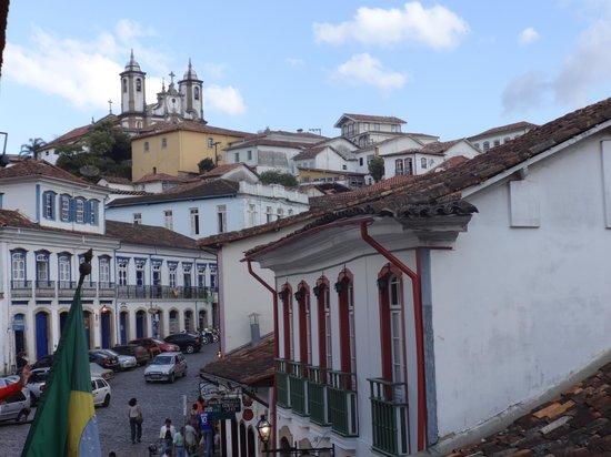 Vista da cidade na sacada da Casa dos Contos