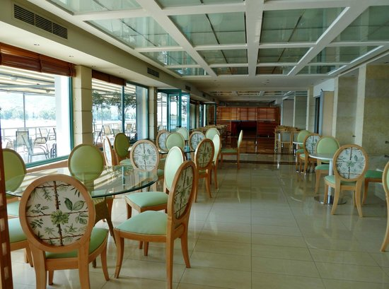 Xenia Poros Image Hotel: Breakfast area