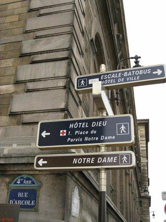 มหาวิหารน็อทร์-ดาม: Catedral de Notre-Dame - entorno